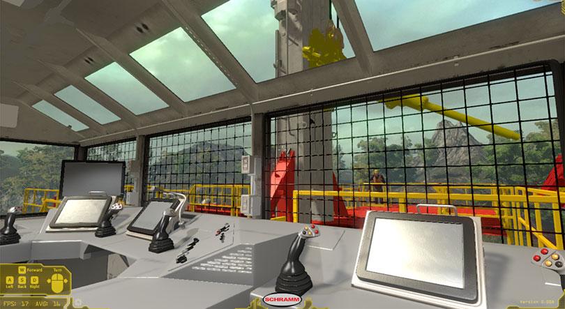 Schramm Virtual Rig Training Simulator