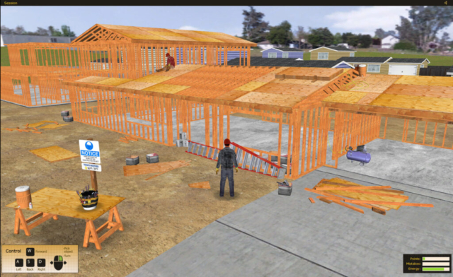 State Compensation Insurance Fund HazOps Safety Training Simulator