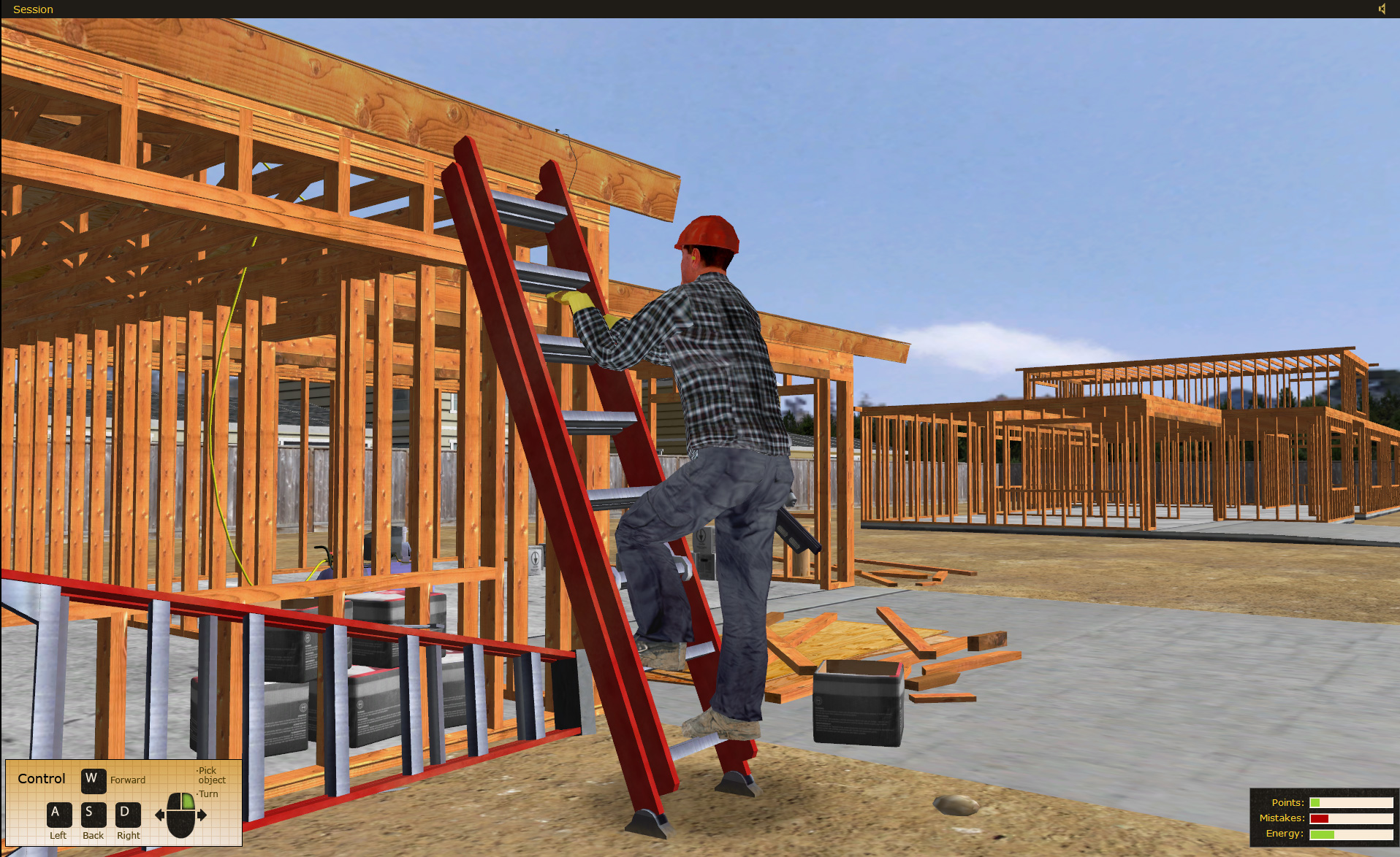 State Compensation Insurance Fund Ladder Safety Training Simulation Software