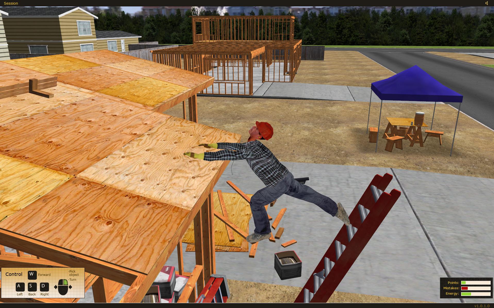 State Compensation Insurance Fund Ladder Safety Training Simulation Software