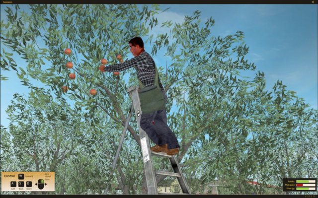 State Compensation Insurance Fund Safety Agricultural Ladder Safety Training Simulator by ForgeFX Simulations