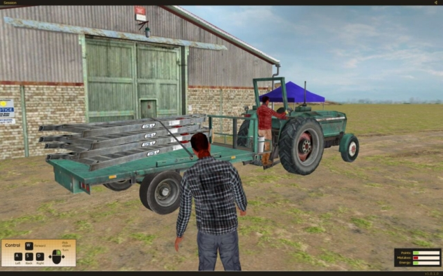 State Compensation Insurance Fund Safety Training Simulator Tractor Safety
