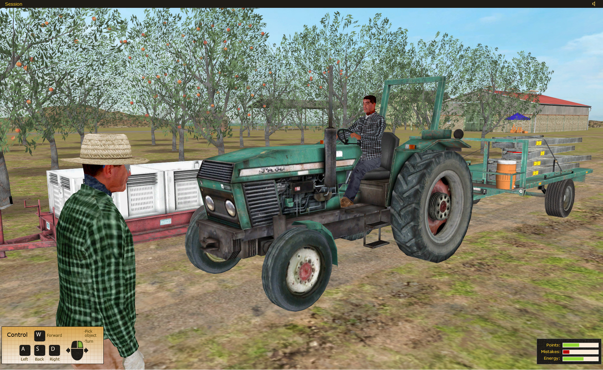 State Compensation Insurance Fund Safety Agricultural Safety Training Simulator by ForgeFX Simulations