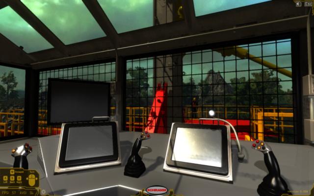 Telemast Drill Virtual Training Simulator