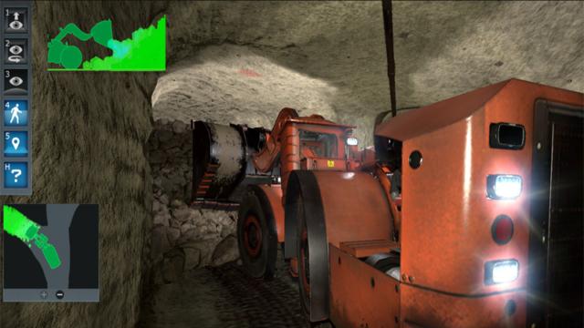 Komatsu Underground Mining, Loader Simulator