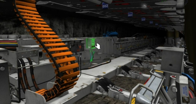 Komatsu Mining, Longwall Training Simulator by ForgeFX Simulations