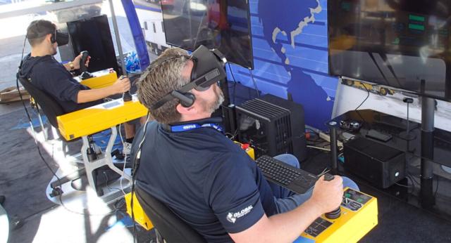 Virtual Reality Aircraft Deicing Simulator by ForgeFX Simulations
