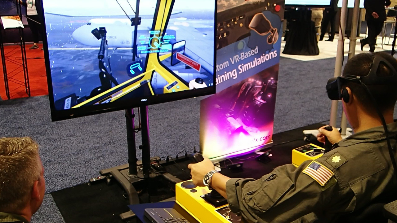 Virtual Reality Aircraft Deicing Training Simulation