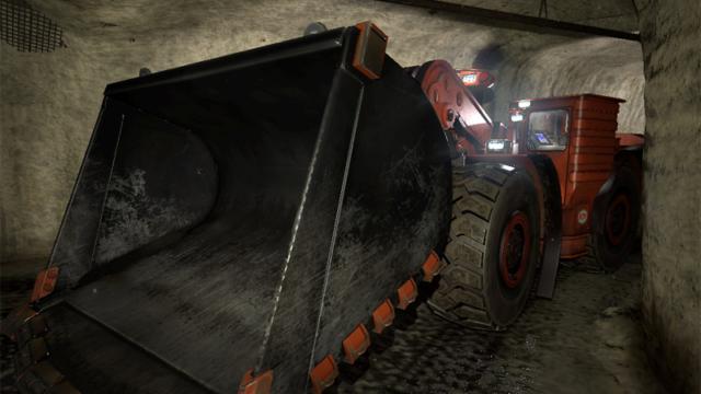 ForgeFX Simulations Joy 18HD Underground Mining Loader Virtual Training Simulator