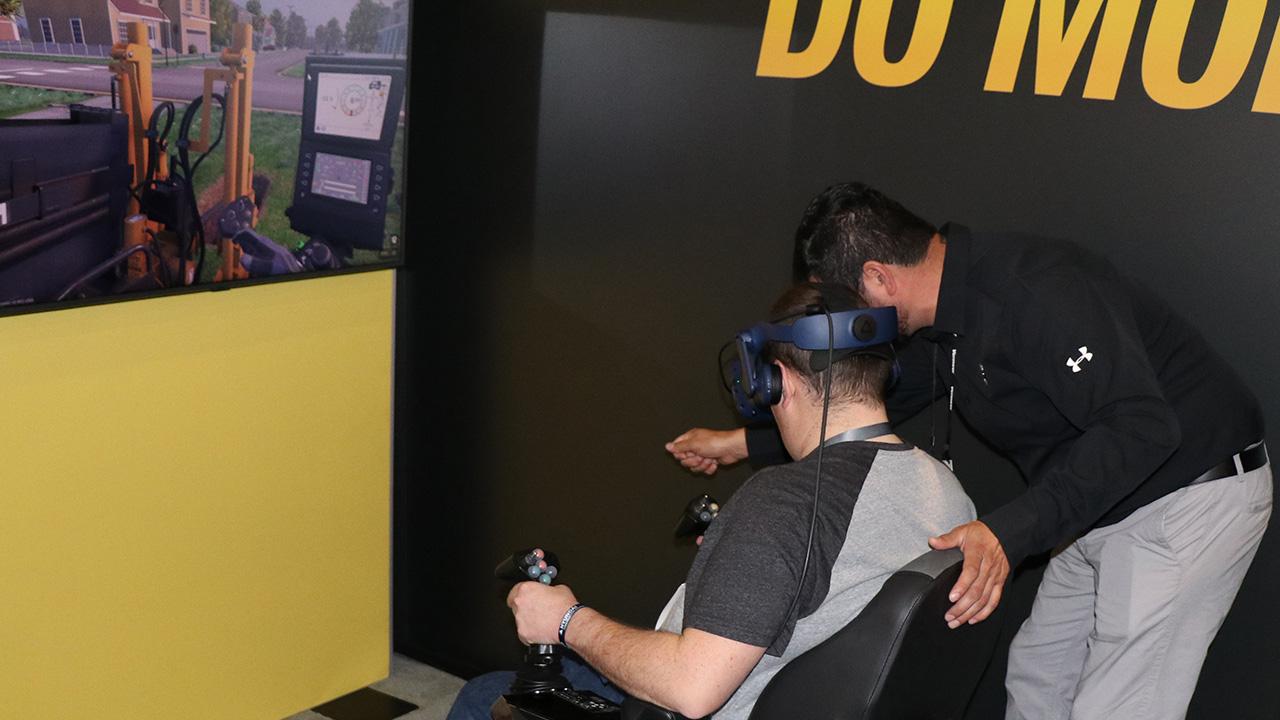 Virtual Reality Training for Horizontal Directional Drill Operators