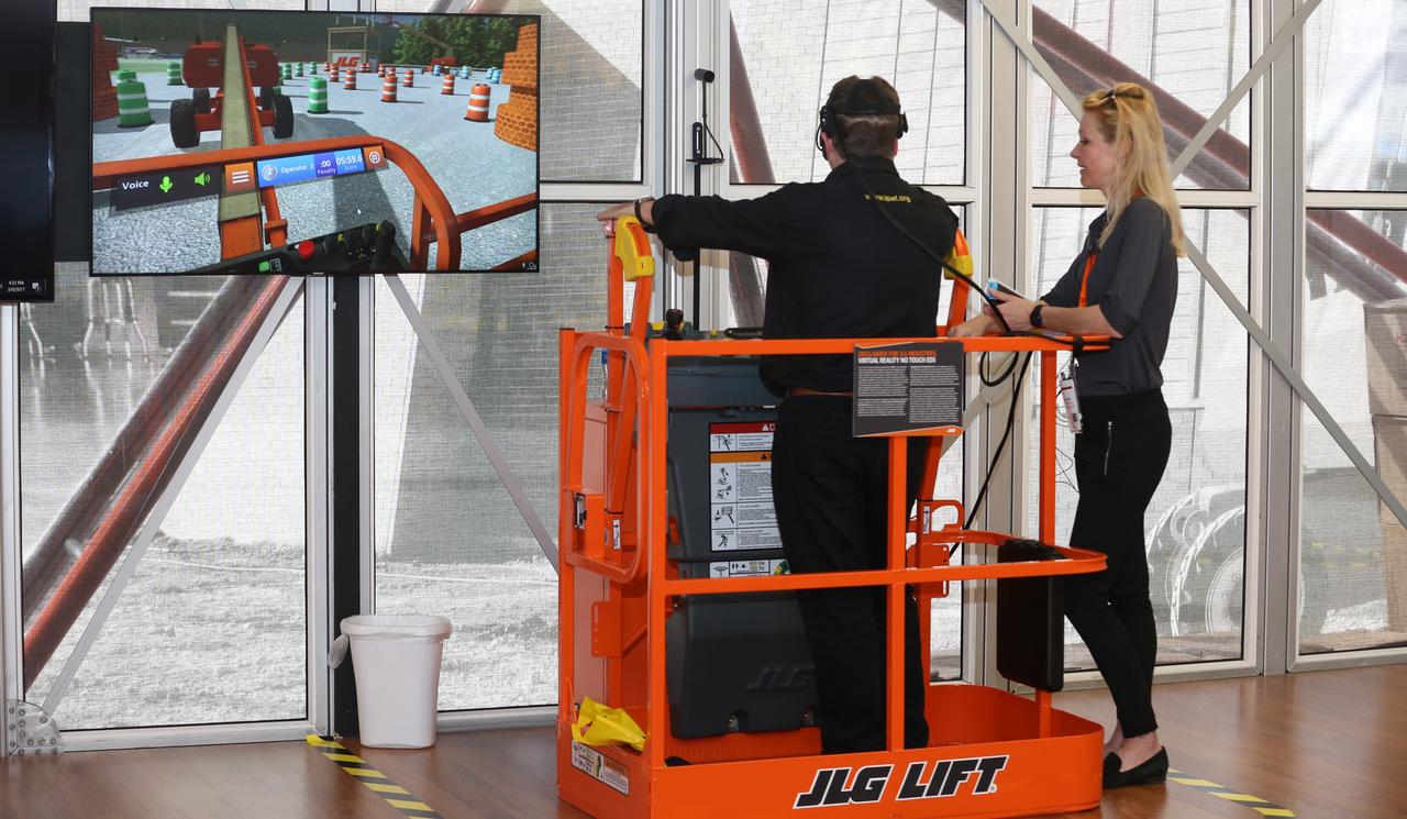 Virtual Reality Training Simulator