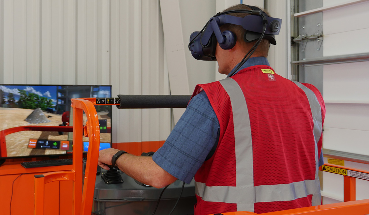 JLG VR Training Simulator, AccessReady XR