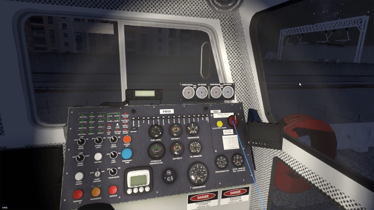 WMATA Metro Operator Training Simulator by ForgeFX Simulations