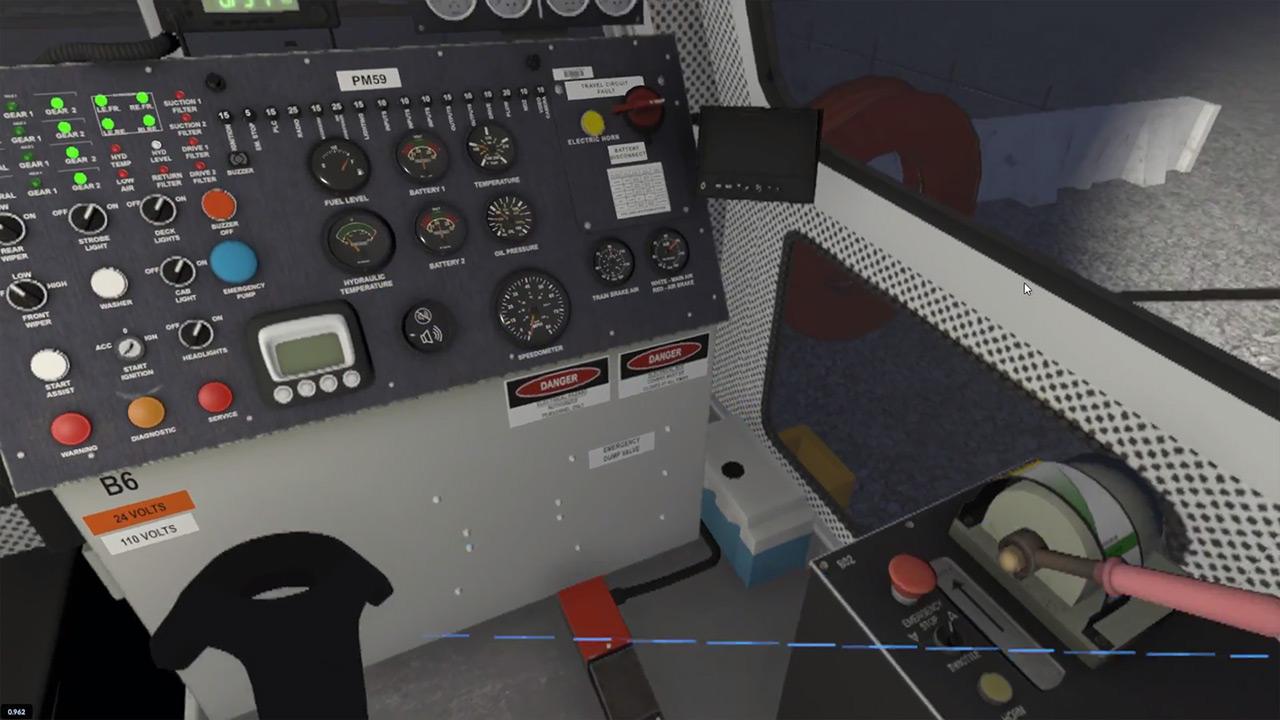 WMATA Virtual Reality Training Simulator