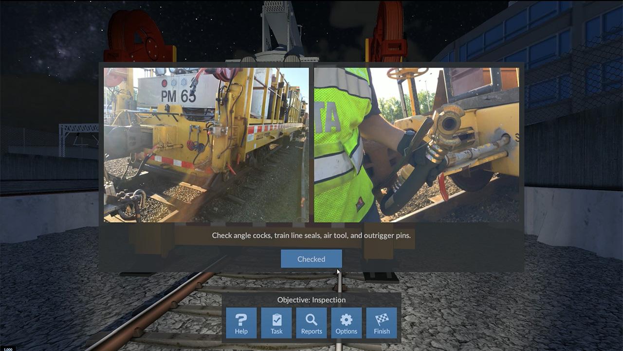WMATA Metro Operator Maintenance Training Simulator by ForgeFX Simulations
