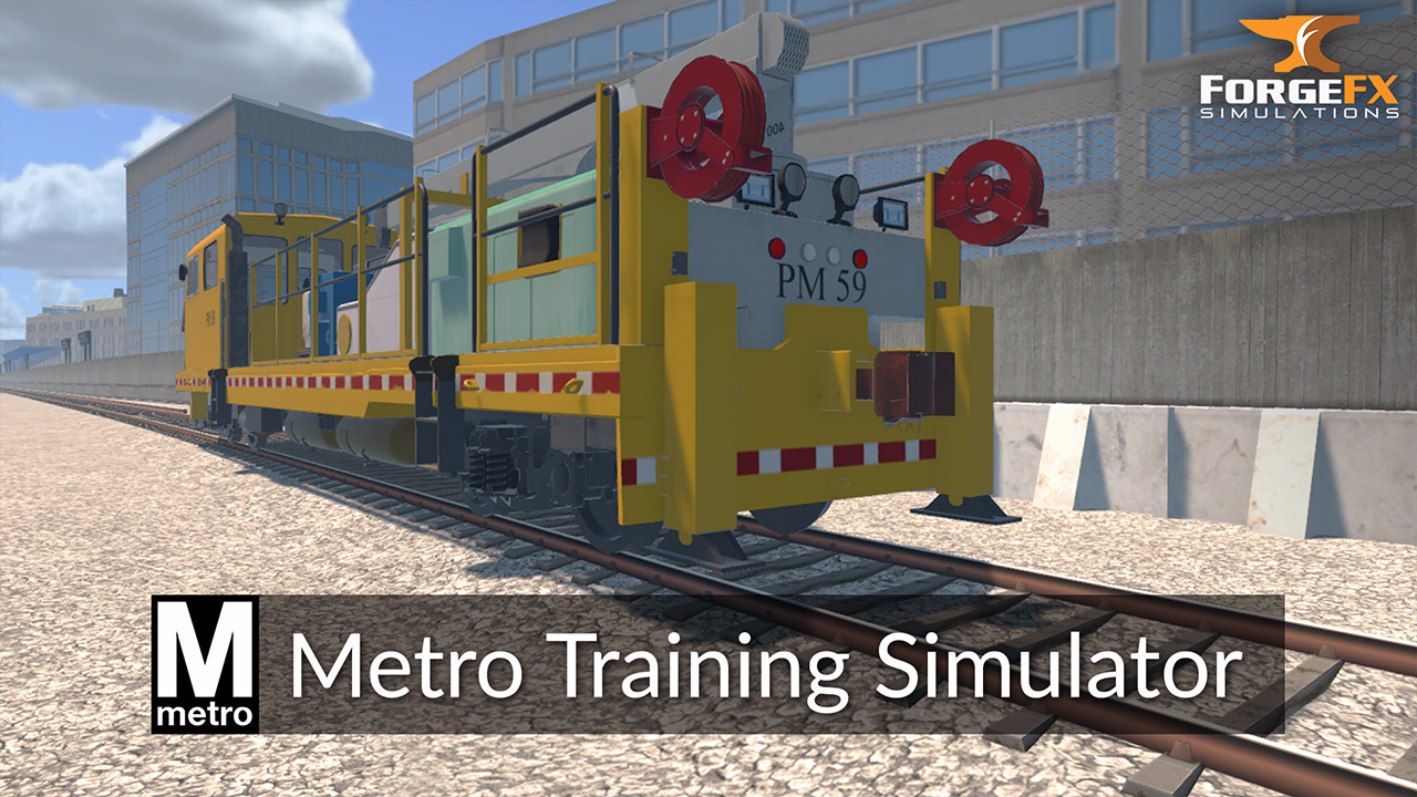 WMATA Metro Training Simulator by ForgeFX Simulations